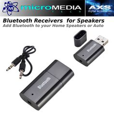 Bluetooth Audio Receiver Adapter -Convert Speakers to Wireless Bluetooth #AXSSoundTECH