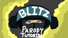 A 1980s style info graphic Rainbow Six video (Blitz)