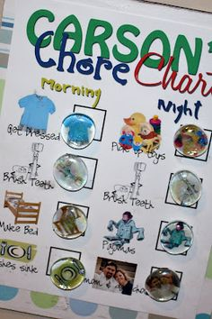 Chore Charts & Reward Jars - Liz on Call