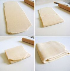 Fed up with industrial, processed puff pastry sheets? Making your homemade puff pastry requires a bi Pastry Dough Recipe, Puff Pastry Dough, Puff Pastry Sheets, Puff Pastry Recipes, Home Made Puff Pastry, How To Make Pastry, Choux Pastry, Shortcrust Pastry, Bread And Pastries