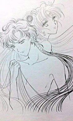 Seiya and Sailor Moon