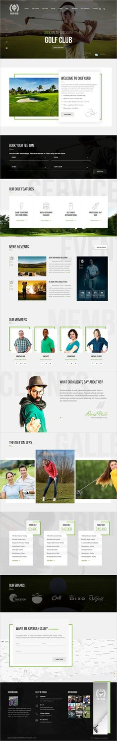 Golf club is a professional responsive #WordPress theme for #golf club and outdoor #sports websites download now➩ https://themeforest.net/item/golf-club-golf-course-wordpress-theme/18676869?ref=Datasata