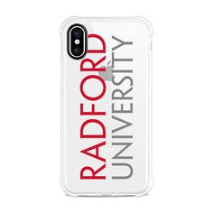 Officially licensed Radford University Phone CaseFlexible & Tough! Designed to protect with an impact bumper, the Tough Edge case will protect your phone from the bumps and bruises of daily wear and tear. Showcasing your favorite school logo, the Collegiate Series will make you be the biggest fan in the crowd. Made with quality materials and printed with love in Southern California, OTM Essentials brings you fashionable tech accessories at affordable prices. Flexible slim fit case Extra… Radford University, School Logo, Daily Wear, Southern California, Tech Accessories, Crowd, Essentials, Bring It On, Phone Cases