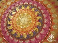 Sunmandala in the afternoon sunshine Sunmandalas by Je (C)