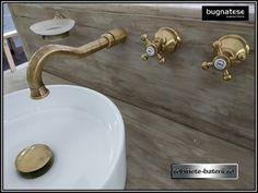 Baterie lavoar retro Lady culoare bronz, cu montaj in perete, Sink, Home Decor, Homemade Home Decor, Vessel Sink, Decoration Home, Room Decor, Interior Design, Home Interiors, Countertop
