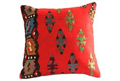 Red       Kilim Pilllow on OneKingsLane.com