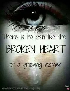 Linda Forever 28 ❤ There is no pain like the broken heart of a grieving mother⭐