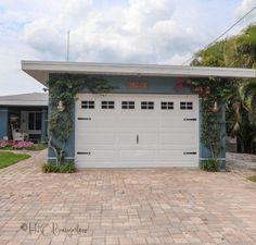 DIY Painted Garage Door with Handmade Faux Windows   HomeRight