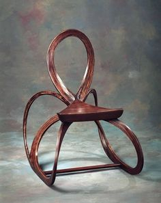 ribbon rocking chair