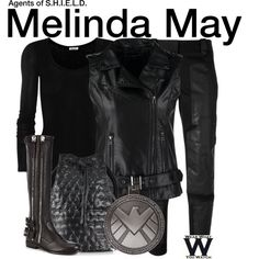 Inspired by Ming-Na Wen as Melinda May on Agents of S.H.I.E.L.D.