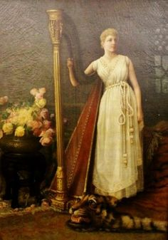 TICMUSart: Portrait Of A Lady - Clarence LaVerne Butler (I.M.)