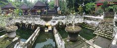 Ancient bathing at Gua Gajah