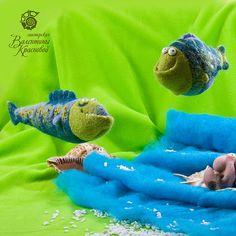 Игрушки животные, ручной работы. Ярмарка Мастеров - ручная работа Рыбы. Handmade.