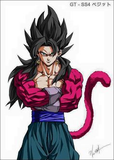 SSJ 4 Vegitto Dragon Ball - #DragonBall #DragonBallGT #DBGT