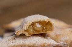 Estas tortinhas de maçã são simplesmente deliciosas! Apple Pie filled