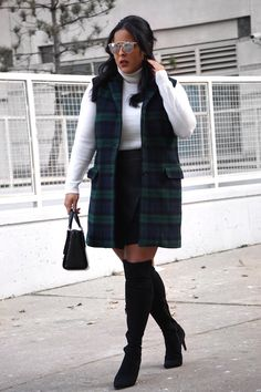 over the knee boots are a must for fall and winter