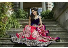 Gone are the days when Asian bridal outfits look generic. With so many options from ready-to-wear wholesalers and bespoke designers you can be sure your wedding lehenga, saree or dress will match just who you are. Indian Bridal Fashion, Indian Bridal Wear, Asian Bridal, Indian Wedding Outfits, Bridal Outfits, Indian Outfits, Bridal Dresses, Indian Clothes, Indian Wear