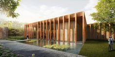 Galería de CHROFI y McGregor Coxall proponen un cementerio boscoso que cambia las lápidas por GPS - 9