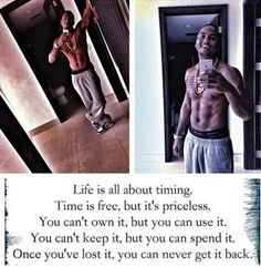 Timing is everything... Trey songz quote