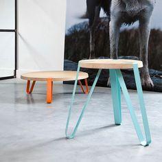 Pure Design in Oak and Steel