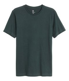 c5db3bcc9aa Jersey T-shirt in an organic cotton blend with a round neckline.