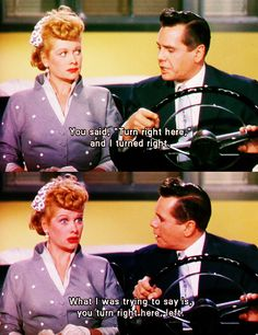I love this movie. The Long Long Trailer, starring Lucille Ball and Desi Arnaz. :)