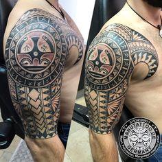 samoan tattoo designs for men Dope Tattoos, Badass Tattoos, Arm Tattoos For Guys, Body Art Tattoos, Tribal Tattoos, Sleeve Tattoos, Tattoo Sleeves, Arm Sleeves, Tatoos