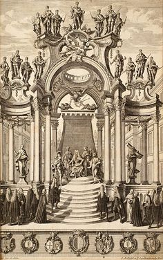 Mathias Steinl - Hold rakouských stavů císaři Josefu I., 1705