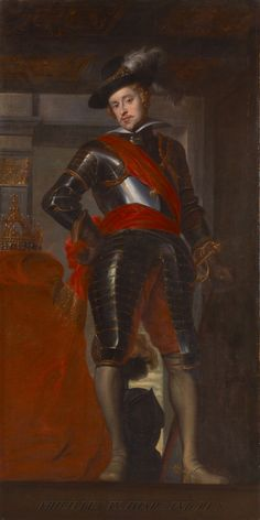 Philip IV of Spain by Caspar de Crayer. 17th c. Oil on canvas. 257.0 x 129.5 cm