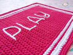 Play! Crochet Outdoor Rug