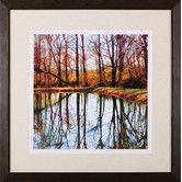 Found it at Wayfair - Autumn Mosaic by Carl Gethmann Framed Photographic Print