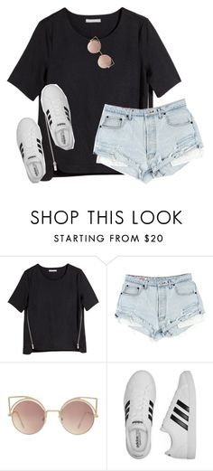 """""""got a new phone..polyvore is so much different now"""" by lydia-hh ❤ liked on Polyvore featuring H&M, MANGO and adidas"""