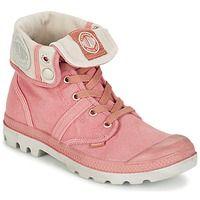 Chaussures Femme Boots Palladium US BAGGY Vieux rose / Gris