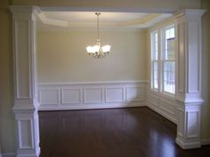 Dining Room Improvements Plus Molding Tutorial  Wainscoting Magnificent Dining Room Wall Trim 2018