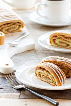Honey Nut Rolls are filled with delicious ground walnuts and honey. The perfect homemade gift for friends and neighbors.