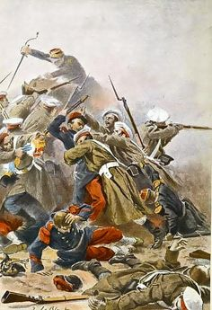 Russo-French skirmish during the Crimean War.
