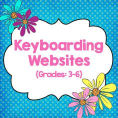 I& been trying hard all year to help my students become more proficient at their keyboarding skills. We work hard in class to improv. Teaching Technology, Educational Technology, Student Learning, Fun Learning, Teaching Kids, Learning Sites, Instructional Technology, Technology Tools, Piano Teaching