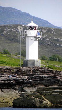 RHUE  Lighthouse, Rhue, Ullapool, Scotland,