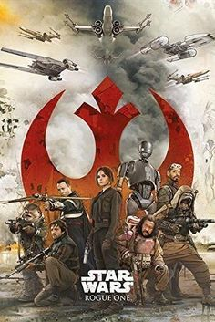 Star Wars Rogue One Rebels Film Movie Poster Print Wall Art Large Maxi