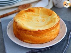 Tarta de queso esponjosa, foto 2 Quiches, Food Cakes, Cheesecake Recipes, Cheesecakes, Baked Goods, Baking Recipes, Sweet Recipes, Good Food, Food And Drink