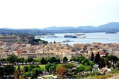 9 Alte Festung Korfu Stadt Altstadt Griechenland