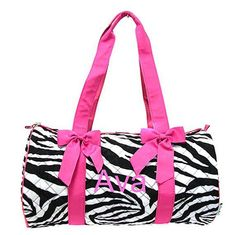 Personalized 18 Girls Dance Bag/Ballet by kozykidzboutique on Etsy, $30.95