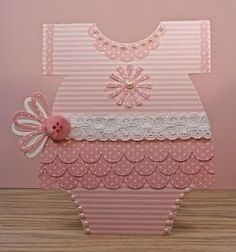 Lil Inker, Baby, girl, Stitched Scallop Border Die, Gift Bow Topper die…