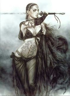 luis royo artist 15 Dead sexy fantasy drawings from the imagination of Luis Royo photos) Gothic Fantasy Art, Fantasy Art Women, Fantasy Warrior, Dark Fantasy Art, Fantasy Girl, Woman Warrior, Dark Warrior, Fantasy Sword, Beautiful Fantasy Art