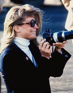 Candice Bergen visiting the set of Catch-22 in Mexico, 1969. Photos by Bob…