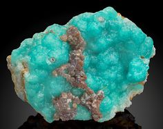 Blue and Lavender Smithsonite - Choix, Mun. de Choix, Sinaloa, Mexico