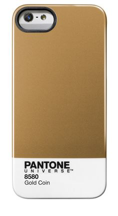 Pantone iPhone 5 Case in Gold Coin. I L-O-V-E this.