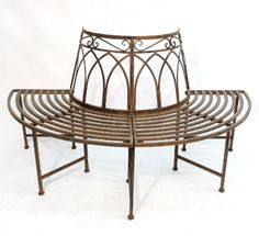 Think Asolo Bank halbrund Metall Think Think Outdoor Chairs, Outdoor Furniture, Outdoor Decor, Amazon Home Decor, Diy And Crafts, Park, Table, Diy Pins, Images