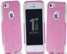 bded9384627 iPhone 7/7 Plus iPhone 5 6/6 Plus Otterbox Case, Bling iPhone 5/5S 6/6 Plus  Case, Glitter Light Pink iPhone5 Case, iPhone5 Cover
