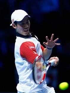 Kei Nishikori Photos - Barclays ATP World Tour Finals - Day One - Zimbio